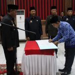 206 PNS Melaksanakan Pengangkatan Sumpah/Janji di Lingkungan Pemkab Sanggau