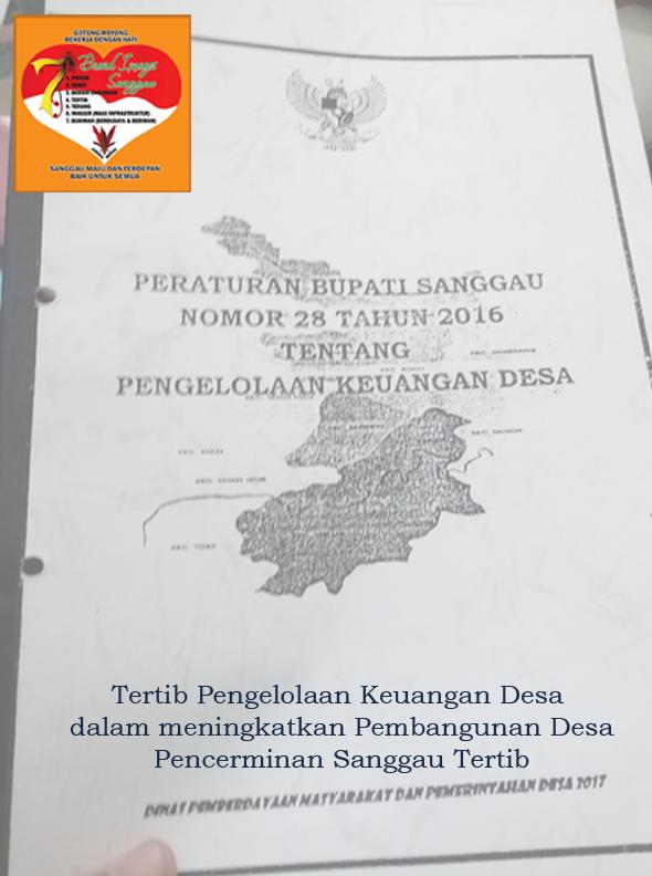 BPKAD Kabupaten Sanggau tegaskan segera menyampaikan Laporan Konsolidasi penggunaan DD sebagai persyaratan proses pencairan Dana Desa Tahap kedua