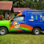 Bantuan Mobil Perpustakaan Keliling Untuk Perpustakaan Umum Sanggau