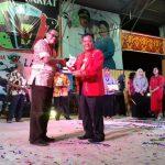 Bappeda Kabupaten Sanggau Raih Juara Terbaik 1 Stand Pameran Pembangunan 2017