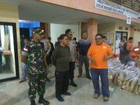 Bupati, Kapolres dan Dandim Sanggau Tinjau Gudang Logistik Pemilu 2019