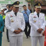 Hari Pertama Kerja, Bup dan Wabup Sanggau Terpilih di Sambut Meriah Oleh Seluruh ASN dan Tenaga Kontrak di Lingkungan Pemkab Sanggau