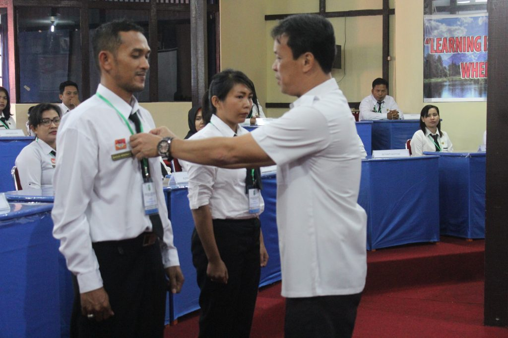 Diklat Prajabatan CPNS Gelombang II dari Tenaga Bidan PTT dan Penyuluh Pertanian THLTB