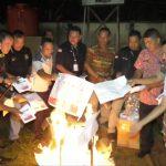 Dinyatakan Rusak, KPU Sanggau Musnahkan 11.140 Lembar Surat Suara