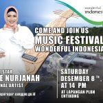 FESTIVAL MUSIK WONDERFUL INDONESIA - DISPORAPAR