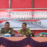 Fasilitasi Peningkatan Kesadaran Bela Negara di Kabupaten Sanggau Tahun 2018