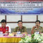 Fasilitasi dan Sosialisasi Pencegahan Penyalahgunaan Narkoba di Kabupaten Sanggau Tahun 2018