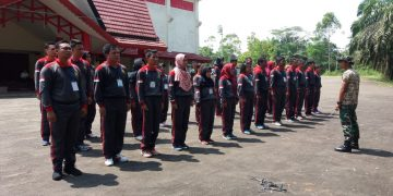 Hari Kedua Materi Bela Negara bagi CPNS Golongan III Angkatan I