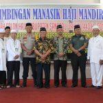 Sebanyak 110 Jama'ah Haji Kabupaten Sanggau Mengikuti Bimbingan Manasik Haji