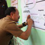Wabup Sanggau Optimis Juara Perlombaan Penilaian PKK-KKBPK-Kes Tingkat Provinsi Kalbar di Desa Tanjung Merpati