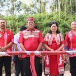 Bupati Sanggau Safari Natal Bersama Umat di Gereja Maria di Angkat ke Surga Paroki Jangkang