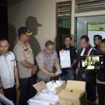 Kapolres Hadiri Pemusnahan Surat Suara Rusak, Cacat dan Berlebih di Kantor KPU Sanggau