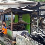 Kebakaran di Gang Amal Kota Sanggau