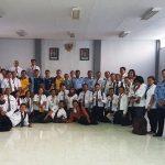 Kegiatan Visitasi dalam Diklatpim Tingkat IV di Rutan Sanggau