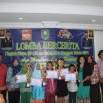 Lomba Bercerita Tingkat SD/MI se - Kabupaten Sanggau Tahun 2018