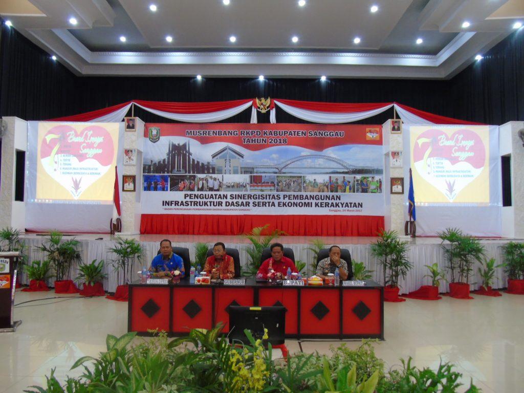 Musrenbang RKPD 2018 Kabupaten Sanggau