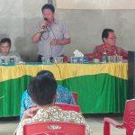 Pembinaan Aparatur Desa Malenggang - DISPEMDES