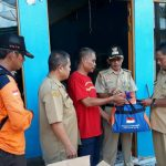 Penyerahan Bantuan Korban Kebakaran - BPBD