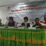 Rapat Koordinasi Evaluasi dan Pelaporan Pelaksanaan Pilgub Kalbar dan Pilbup Sanggau Tahun 2018