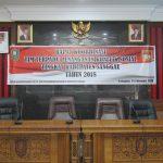 Rapat Koordinasi Tim Terpadu Penanganan Konflik Sosial Tingkat Kabupaten Sanggau Tahun 2018