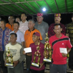 Bupati Sanggau Tutup Kegiatan Festival Danau Laet ll tahun 2019