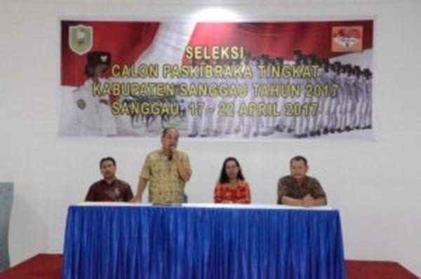 Seleksi Calon Paskibraka 2017 Kab. Sanggau