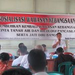 Sosialisasi Wawasan Kebangsaan di Kabupaten Sanggau Tahun 2017