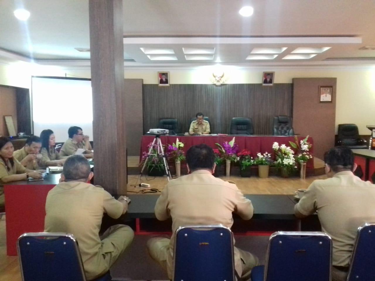 TIM KLHS RPJMD KABUPATEN SANGGAU TAHUN 2019-2024 MELAKUKAN PEMANTAPAN TIM