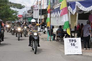 Beri Rasa Aman, Kapolda Kalbar dan Pangdam XII/Tpr Sambangi TPS