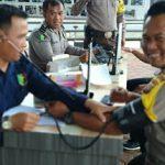 Kontrol Kesehatan, Dokes Polres Sanggau Periksa  Anggota