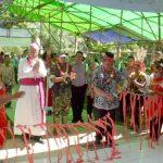 Bupati Sanggau resmikan gereja di Dusun Sekampet, Jangkang