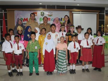 Lomba Bercerita Tingkat Pelajar SD/MI se-Kabupaten Sanggau Tahun 2019