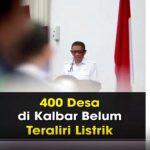VIDEO: Penjelasan Gubernur Terkait 400 Desa di Kalbar Belum Teraliri Listrik