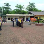 Pimpin Apel Pagi Wakapolres Sanggau Sampaikan Arahan Kepada Anggotanya