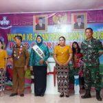 Bhabinkamtibmas Hadiri Wisuda Paud Gloria 3 di Dusun Sebandang