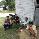 Bhabinkamtibmas Berikan Himbauan Stop Karhutla Melalui Patroli Dialogis