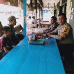 Berikan Pesan Kamtibmas, Bhabinkamtibmas Sambangi Warga Binaan