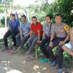 Jalin Kedekatan Bripda Roy Hermanto Patroli dan Sambang Dialogis