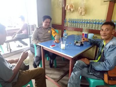 Sambangi Warga Binaan Bhabinkamtibmas Berikan Himbauan Kamtibmas