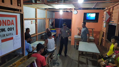Kegiatan Patroli Rutin Polisi Bepadah Polres Sanggau