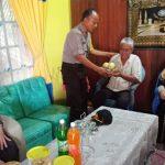 Rayakan HUT Bhayangkara, Kabag Sumda Anjangsana ke Purnawirawan Polri