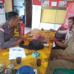 Brigadir Billy Deskara Sambangi Kantor Desa