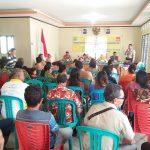 Bhabinkamtibmas Hadiri Kegiatan Pertemuan Forum Musyawarah Desa di Kampung KB