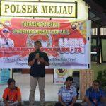 Kapolsek Meliau Buka Turnammen Gaple Kapolsek Meliau Cup 2019 Sambut  Hut Bhayangkara ke-73