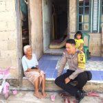 DDS ke Rumah Warga Binaan Bhabinkamtibmas Berikan Pesan Kamtibmas