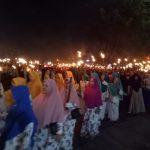 Sambut Ramadhan 1440 H, Ribuan masyarakat Sanggau Gelar Pawai Obor