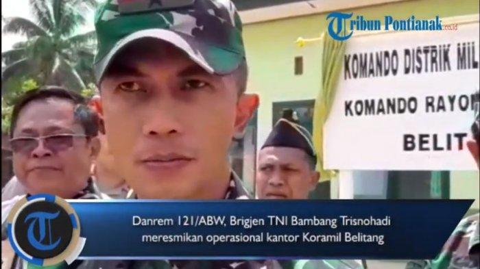 VIDEO: Danrem Resmikan Operasional Koramil Belitang
