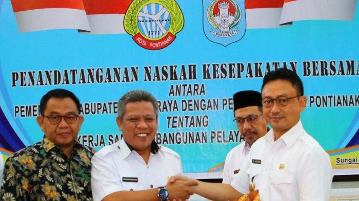 Pontianak-Kubu Raya Jalin Kerjasama, Edi Kamtono: Membangun Kesejahteraan Masyarakat Harus Bersama