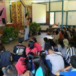 Brigpol Fransiskus Ardianto Sosialisasikan UU ITE untuk Remaja Millenial