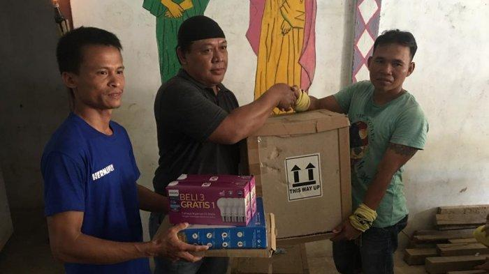 FPIP Korwil Sanggau Salurkan Bantuan Alat Listrik Tenaga Surya ke Perbatasan